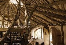 Houses and interiors / Colourful, exotic or fantastical housing inspiration.