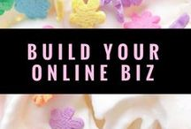 Build a Better Business - Tips and Inspiration / All about building your online biz - (hint - it's more than just picking a pretty logo!)