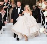 Classic Blush, Black and White Wedding