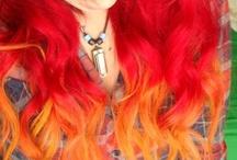 hair color! / by Alli Humphrey
