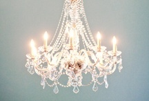 Lighting / Interior lighting: chandeliers, vintage lighting, period lighting, modern lighting, lighting for Victorian houses.