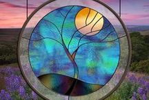 Beautiful stained glass / Stained glass / by Diane's