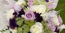 Purple - Lavender Bridal Inspiration / Purple-Green