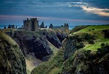 Dunnotar Castle / i had a dream, a vision is you will, several years ago in which i was trying (in vain) to reach my castle. imagine my shock and amazement when i saw an image of this very castle—which is exactly what i had seen in my dream! this, then, is The Castle