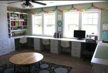 Craft Room Inspiration / by Brittney Goodgame