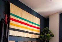 Bay Stripes / Love for all things adorned with the classic Canadian Hudson's Bay company stripes / by Julia Madill