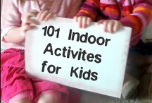 Parenting - Indoor Kids Activities / Indoor activities for kids. Perfect for snow days, rainy days, and the dog days of summer.