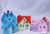 Dwellings: Put a roof on it / Houses small and large, real and imaginary.