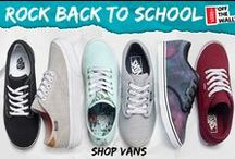 Back to School 2015 / Own your back to school look this year with some of the latest shoe styles and accessories!