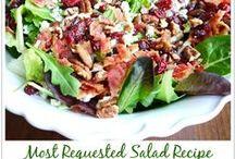Salads & Sandwiches / salads, sandwiches, pasta salads / by Beverly Cabaday