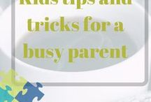 Kids tips and tricks for busy moms / Tips and ideas about kids for new moms, How to discipline kids for busy moms, guide about children for single parent