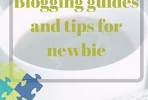 Blogging guide and tips for new bloggers / Blogging tips. Tips to increase blog income. Increase your page views.