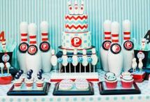 Boy's Sports Parties / sports   boy   birthday   party   ideas   cake   decorations   themes   supplies   favor   invitation   cupcakes