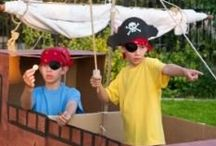 Pirate Party, Recipes, and Crafts / pirate   boy   birthday   party   ideas   cake   decorations   themes   supplies   favor   invitation   cupcakes