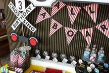 Boy's Vintage Train Birthday Party / vintage | train | boy | birthday | party | ideas | cake | decorations | themes | supplies | favor | invitation | cupcakes  / by Spaceships and Laser Beams