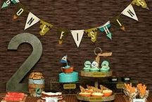 Fishing Birthday Party Ideas, Recipes, and Crafts / fishing   boy   birthday   party   ideas   cake   decorations   themes   supplies   favor   invitation   cupcakes