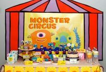 Boy's Monster Mash Party / monster   boy   birthday   party   ideas   cake   decorations   themes   supplies   favor   invitation   cupcakes