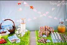 Air Plane, Kites and Pinwheels Party Ideas, Recipes, and Crafts / airplane   vintage   plane   kite   pinwheel   boy   birthday   party   ideas   cake   decorations   themes   supplies   favor   invitation   cupcakes