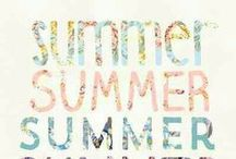 Summertime Inspiration / Summer Inspirations - The beach, swimwear, sun, traveling, tropical places.