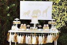 Boy's Jungle/Safari Party / jungle   safari   zoo   lion   zebra   animal   boy   birthday   party   ideas   cake   decorations   themes   supplies   favor   invitation   cupcakes
