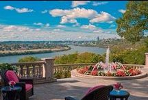 City Views / Stunning views from homes in the Cincinnati, Ohio area.