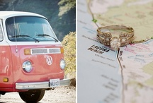 Road Trip / Mood board inspiration for engagement sessions