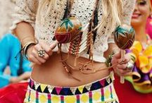 Boho Chic / The chic bohemian: fashion and lifestyle.
