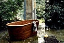 b a t h  / bathrooms and bathtubs.