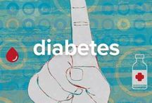 Diabetes / Diabetes is a common group of chronic metabolic diseases that cause high blood sugar (glucose) levels in the body due to defects in insulin production or function. #diabetes