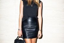 Classic in: Black / Classic fashion styles and trends in black.