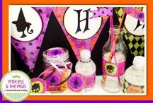 Glam Halloween Party / Glam Halloween Party   Halloween Party Ideas   Halloween Party Printables