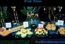 Party Ideas; Food, Decorations and More! / Party ideas, food, decorations, games and complete how to decorate a party.