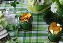 ENTERTAIN St Patrick's / Kiss the Blarney Stone and enjoy a green theme party celebration. / by Debra Brown
