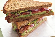 MyPlate: Healthier Sandwiches / Healthier, MyPlate-inspired sandwich ideas. For more information about healthy meal times and snacks, visit ChooseMyPlate.gov.