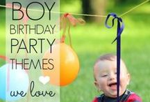 Boy's Party Ideas / boy | birthday | party | ideas | cake | decorations | themes | supplies | favor | invitation | cupcakes / by Spaceships and Laser Beams