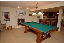 Entertainment Rooms / Some of the unique rooms we love, including man caves, woman caves, custom bars, wine rooms, billiards rooms and much more.