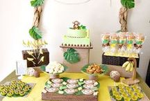 The Best Boy Party Ideas / Sharing the best boy party ideas from first birthday parties for boys to boy baby shower to baptism parties and more!