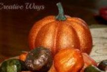 Autumn: Everything for Fall / Everything fall, burlap, recipes, decoration and more.