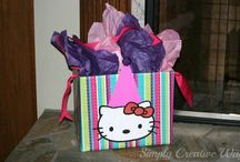 Gift Wrapping / Unique gift wrapping ideas and hand made cards.