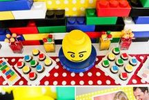 Boy's Lego Party / lego   boy   birthday   party   ideas   cake   decorations   themes   supplies   favor   invitation   cupcakes   cakepops
