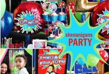 Boy's Fun and Games Party / joke | shenananigan | board games |funny | boy | birthday | party | ideas | cake | decorations | themes | supplies | favor | invitation | cupcakes | diy / by Spaceships and Laser Beams