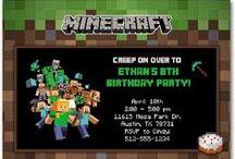 Minecraft Party / minecraft   minecraft party ideas   minecraft printables
