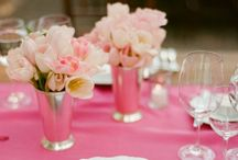 Beautifully Set Tables / Beautiful food set on a beautiful table makes a meal memorable.~Sandra Lee / by Carol Wicks