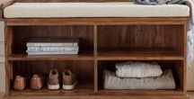 Savvy Storage / Stylish storage solutions with real wood appeal. Solid sheesham, mango or relclaimed pine.