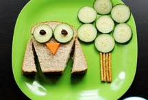 Lunch / Foods that most likely you would eat for a quick lunch or kid's school lunch / by Bilie Parispeaches
