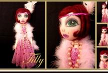 Dolls I make / Art Dolls by Ring A Rosie https://www.facebook.com/RingRosie?ref=hl