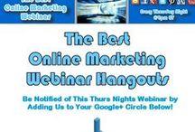 Best Online Marketing Webinar / Updates and future webinars from the Best Online Marketing Webinar