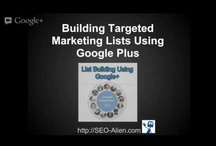 Google Plus Training / Everything I know about using Google plus for networking, building circles, using Hangouts and creating Event Hangouts