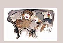 Christel / Christel Andrée Julie Louise Brián Schwarck, married Marott (December 6, 1919 - May 2, 1992 in Herlev) known throughout Denmark as Christel for short was a Danish cartoonist, painter, illustrator and sculptor