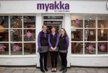 Our Guildford Shop / To experience Myakka at its most eclectic and colourful, do come and see us at our Guildford shop. It's a treasure trove of touch-and-feel style ideas for you to discover. A selection of our furniture, lighting and home accessories collections is displayed in our high street showroom. / by Myakka